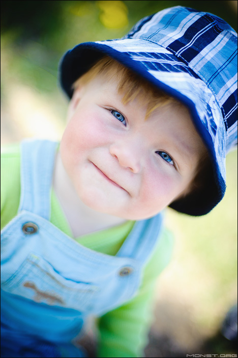 Детская фотосессия в парке
