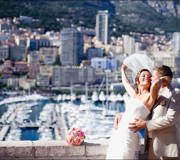 Шикарная свадьба в Монако